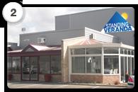 Centre expo standing véranda
