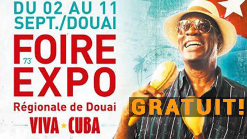 image news Votre entrée GRATUITE à la Foire expo Régionale de Douai !