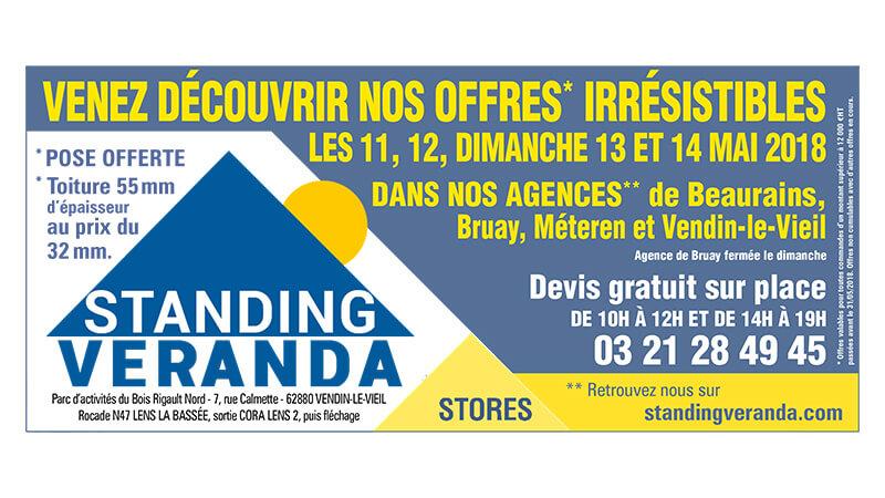 Journées portes ouvertes chez Standing Véranda !