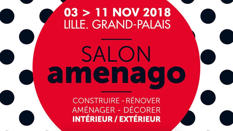 Entrées GRATUITES au Salon Amenago 2018 à Lille Grand-Palais !