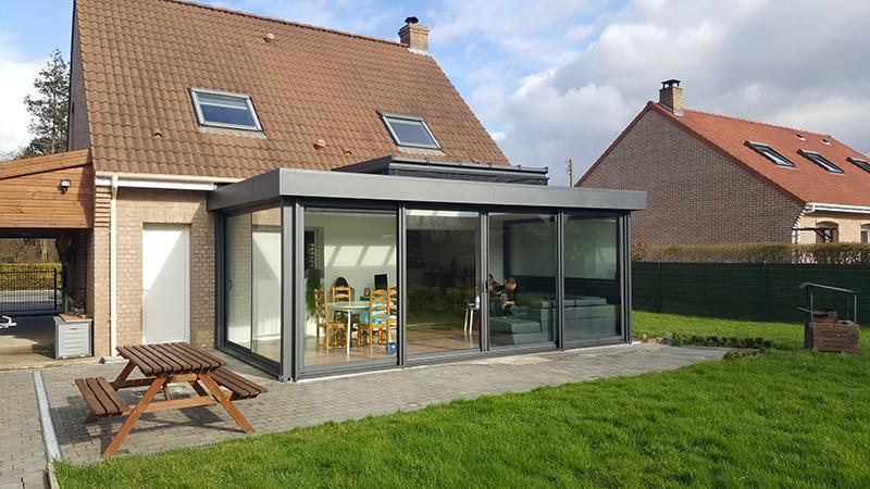 standing v randa photo n 503 toitures plates. Black Bedroom Furniture Sets. Home Design Ideas